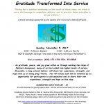 Step Twelve Gratitude Transformed Into Service Arizona Debtors